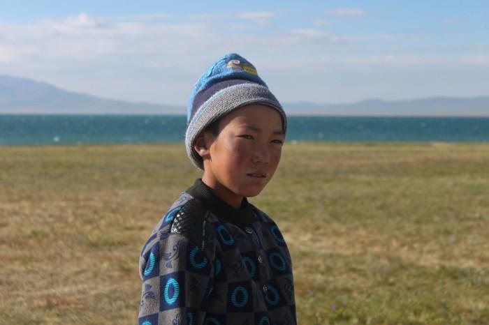 jeune kirghiz