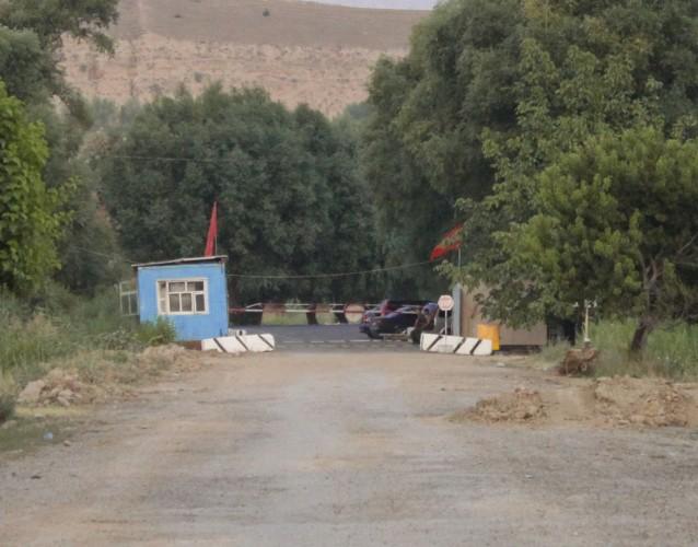 Poste frontière du Kirghizstan à Outchkourgan