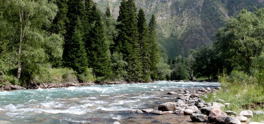 Le Kirghizstan c'est beaucoup de montagnes