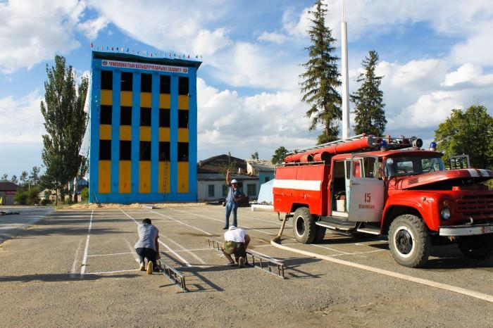 Pompiers de Karakol