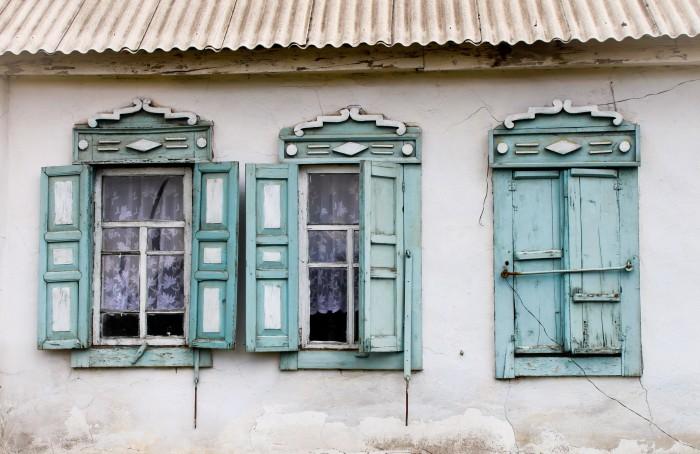 Maison typique à Karakol