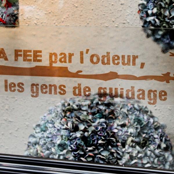 Franchois en vitrine d'un magasin