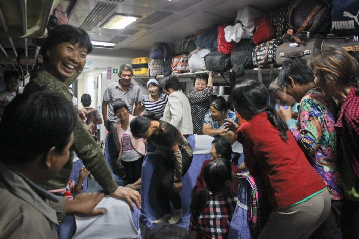 Train entre Urumqi et Xi'an