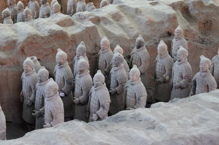 L'armée de terre cuite à Xi'an