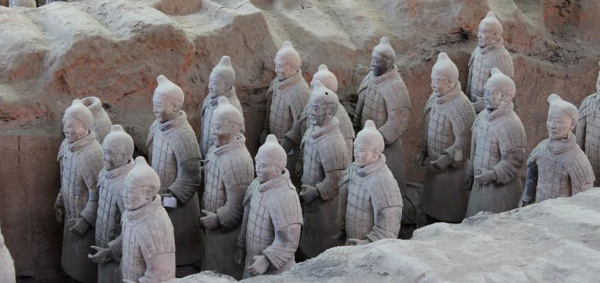 Toutes les statues sont différentes