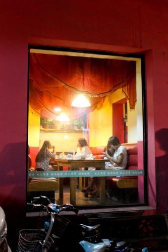 Bar dans un hutong à Beijing