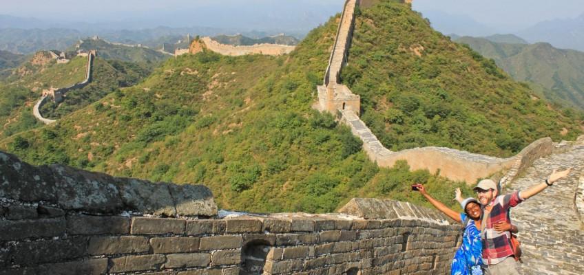 Sur la Grande Muraille