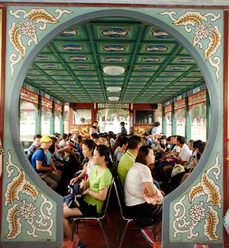 Sur le Lac Kunming au Palais d'Eté