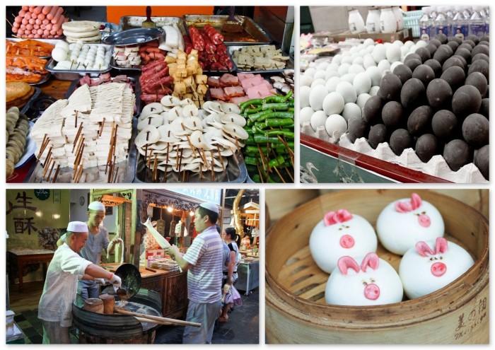 Nourriture de rue en Chine