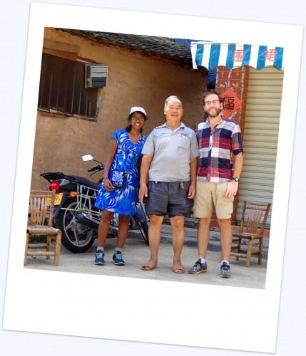 Tchang au village de Taxia