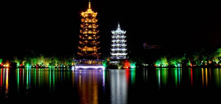 Les pagodes de la Lune et du Soleil