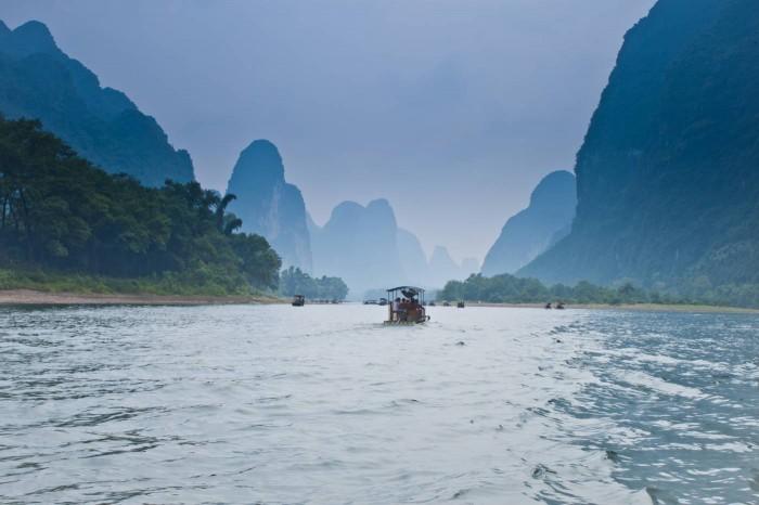 Rivière Li Guilin Yangshuo