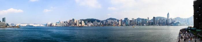 La skyline de Hong Kong le jour