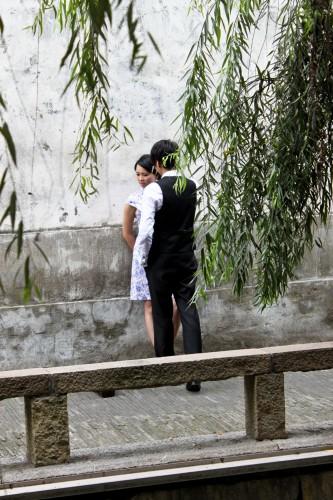 Amoureux à Suzhou