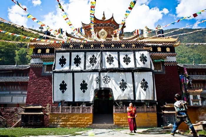 Temple au monastère Jingang