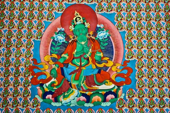 Dieu vert, -gompa-ganden-sumtseling