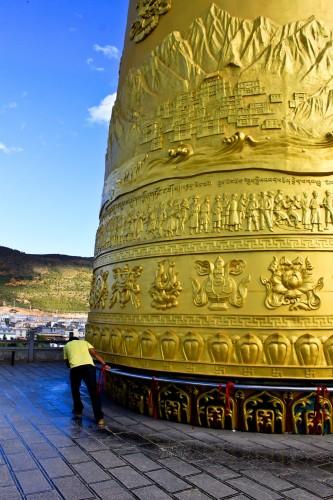 Le moulin à prières de Zhuangjing-Tong