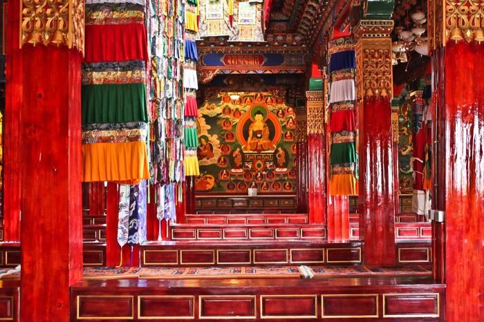 Le temple Sakyamuni, Shangri-La