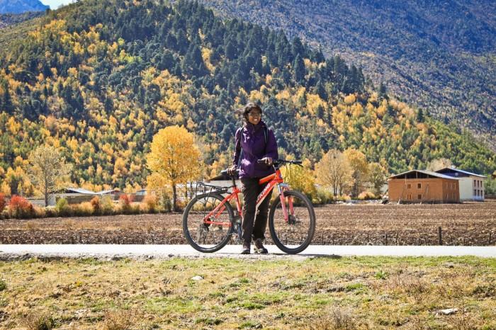 Grande Vallée Shangri-La en vélo