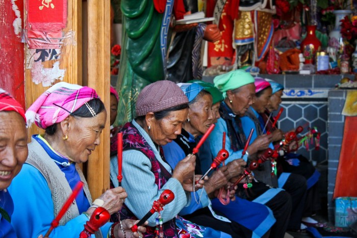 Temple Bai au Yunnan