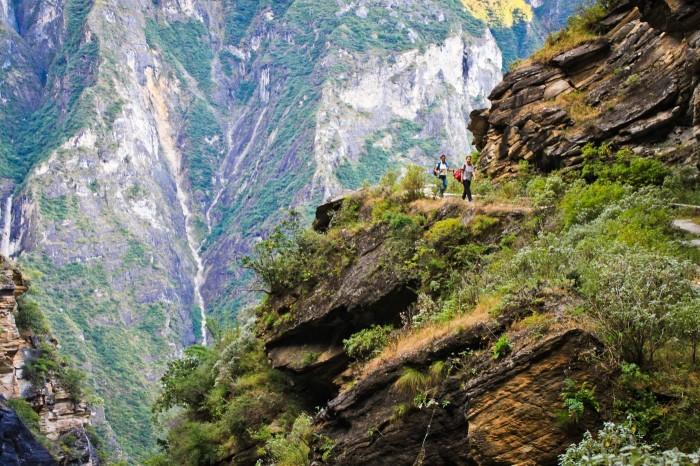 Les falaises vertigineuses des Gorges du Saut du Tigre