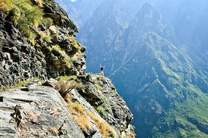 Les falaises des Gorges du Saut du Tigre