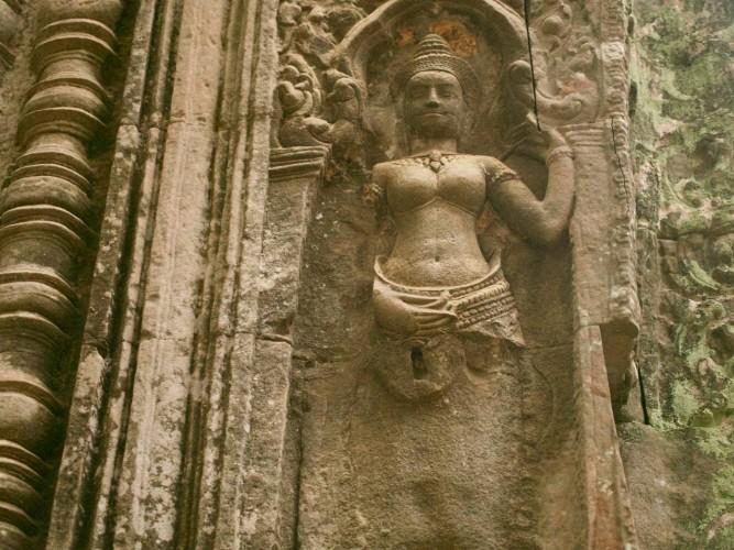 Apsara à Angkor