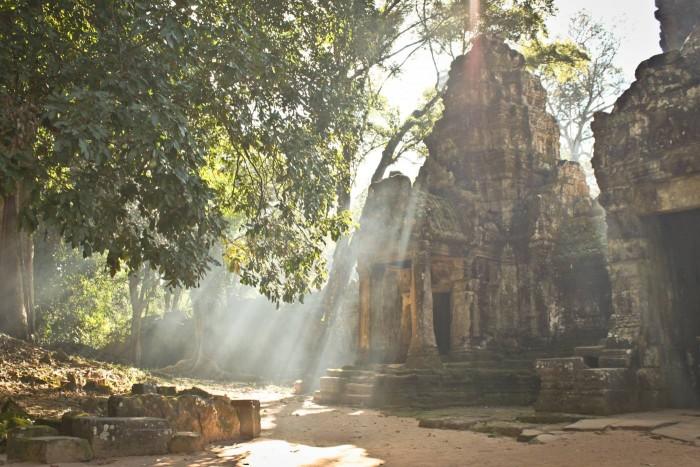 Le Preah Khan à Angkor