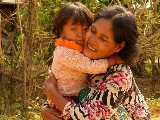 Calin, campagne près de battambang