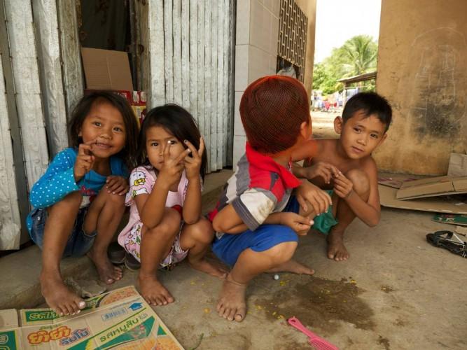 sdao au cambodge, les enfants