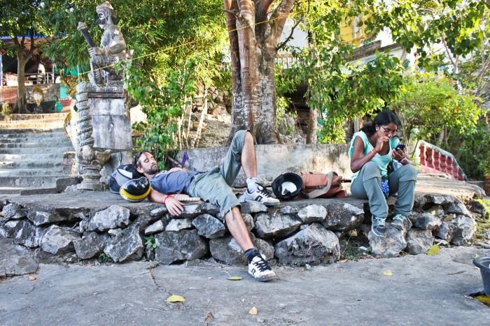 sieste temple près de battambang