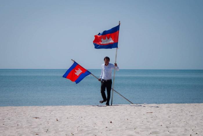 Plage de Kep, cambodge