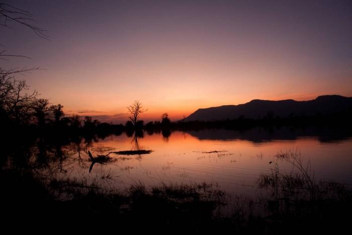 coucher du soleil, preah vihear