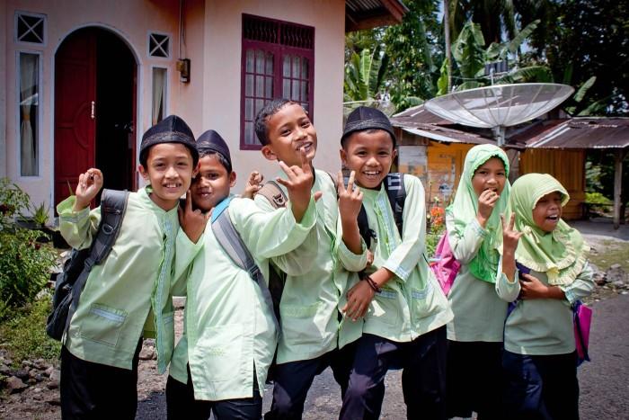 Bukittinggi_ecoliers