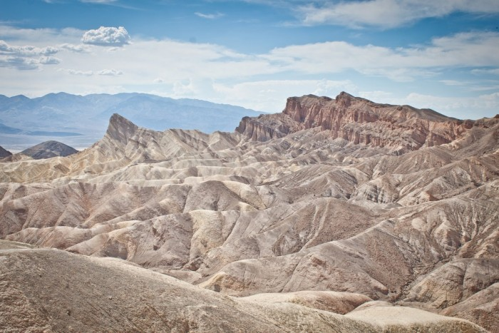 Paysages de la Death Valley