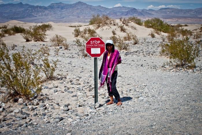 Température dans la Death Valley