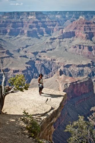 La petite Sophie et le grand canyon
