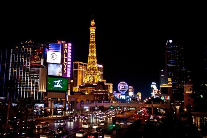 Tour Eiffel à Las Vegas