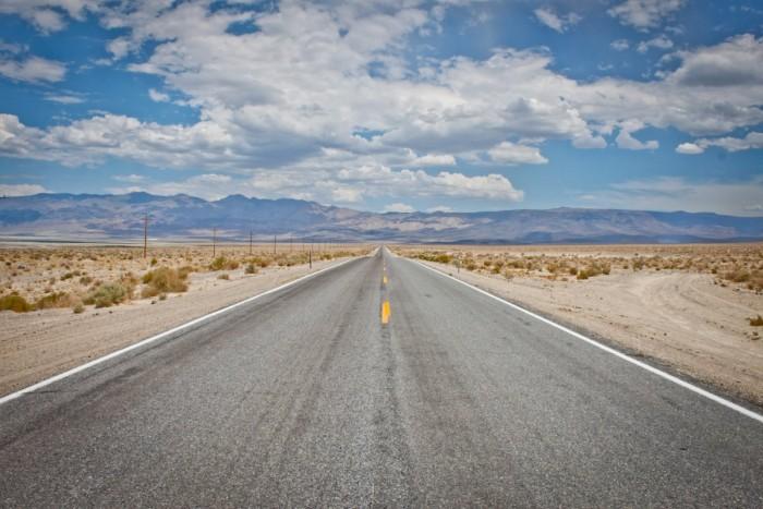 Route de l'ouest américain
