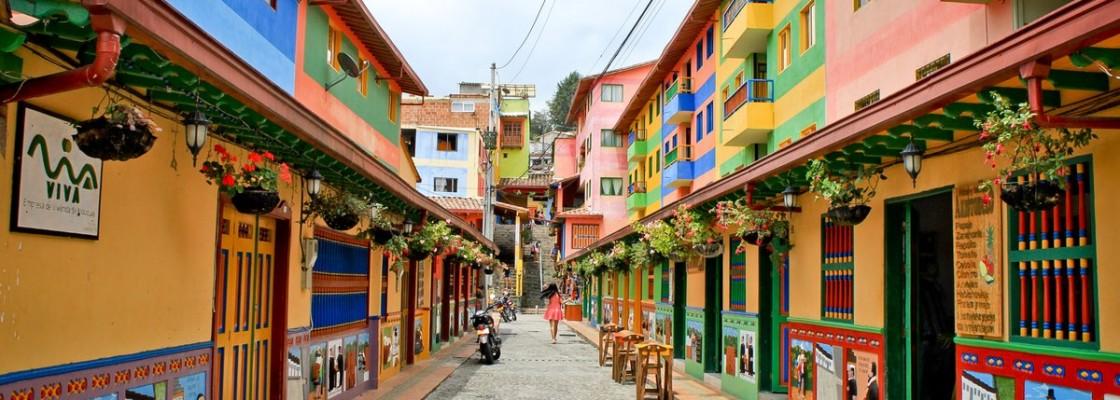 Dans le kaléidoscope colombien