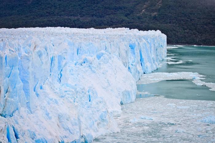 Le mur de glace du glacier Perito Moreno