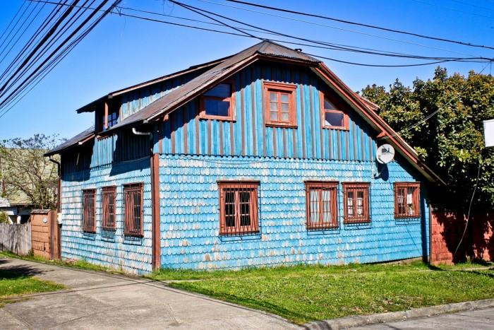 Maison de bois à Puerto Varas