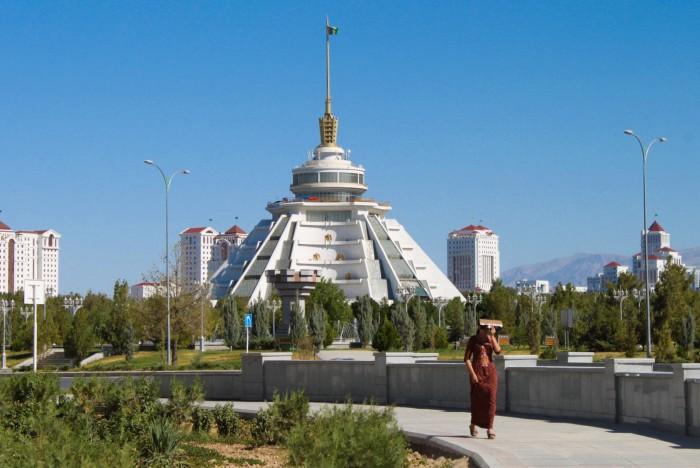 Altyn Asyr, plus grande fontaine du monde