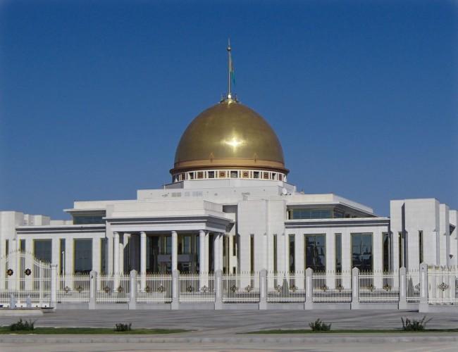 Ancien palais presidentiel à Ashgabat