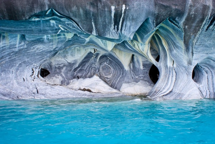 Grottes de marbres, Puerto Rio Tranquillo, Chili