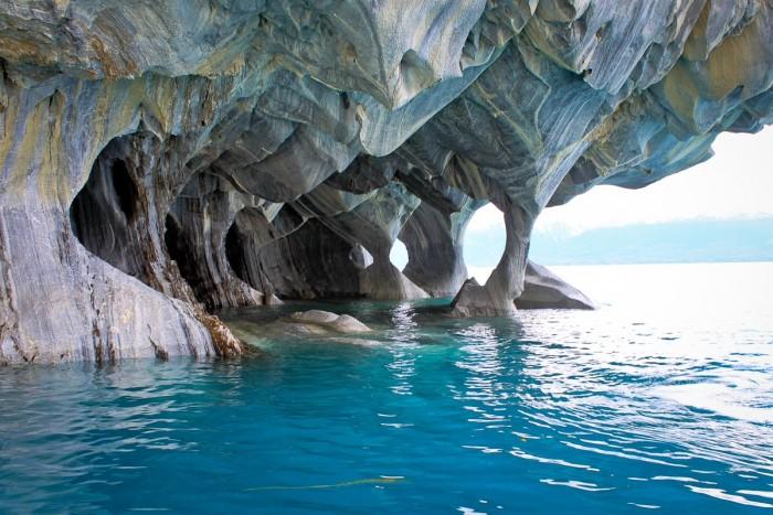 Grottes de marbres, Patagonie chilienne