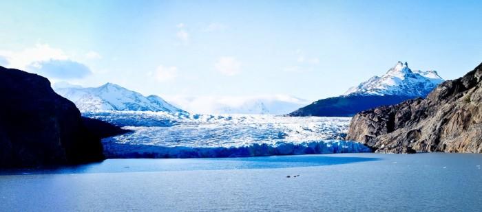 Le glacier Grey dans le parc Torres del Paine