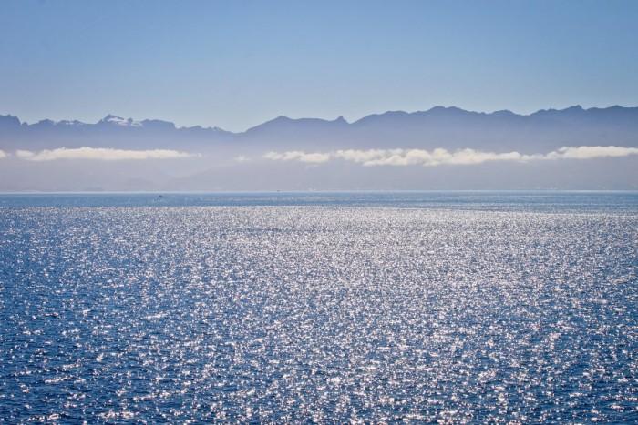 Ferry vers le sud de la Patagonie chilienne